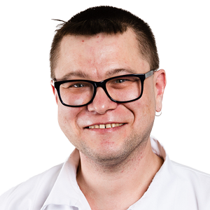 Pfleger Nico Krankenpflege Vitalis